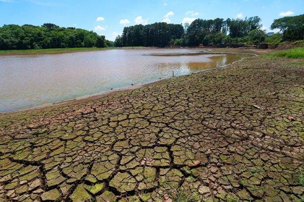 Agravamento da seca na região Oeste de Santa Catarina, devido aos baixos volumes de precipitação – Foto: Julio Cavalheiro / Arquivo/ Secom