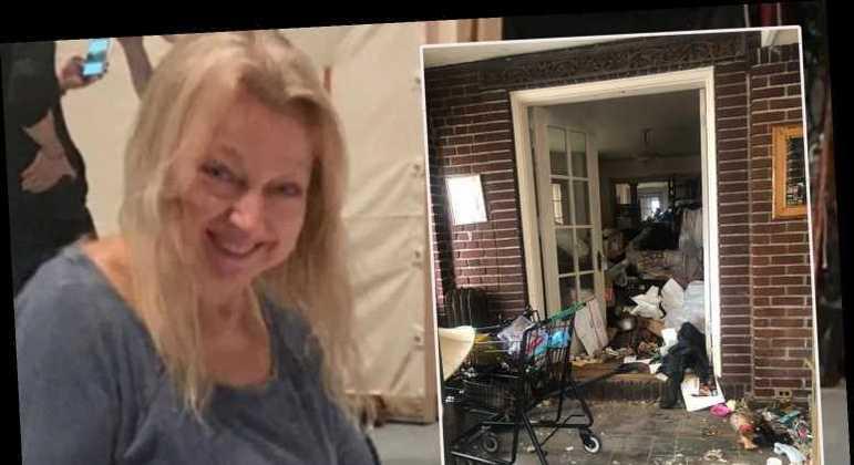 Evelyn Sakash foi encontrada embaixo de muito lixo – Foto: Portal R7/Reprodução/ND