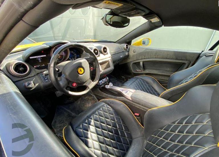 Ferrari Califórnia está disponível em leilão - Reprodução/Daniel Garcia Leilões