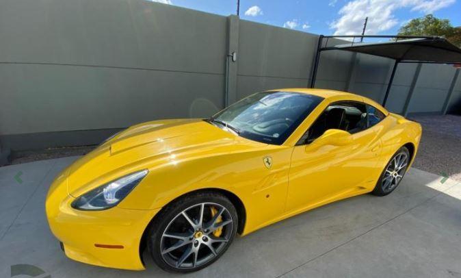 Ferrari Califórnia está disponível em leilão – Foto: Reprodução/Daniel Garcia Leilões