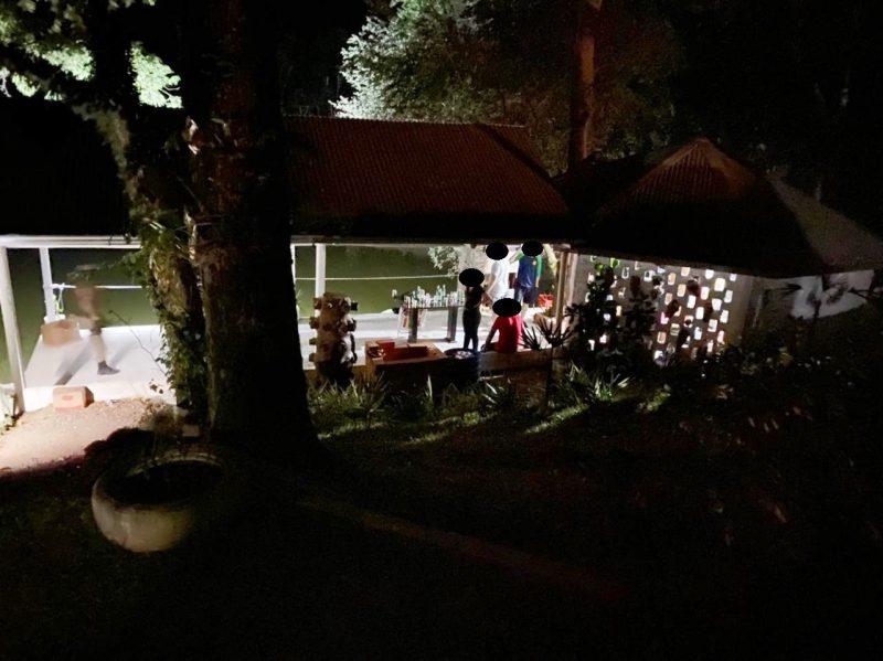 Fiscalização da PM acabou com o festa em Xanxerê – Foto: Força Tarefa/ND