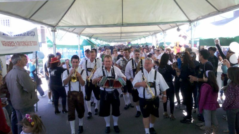 Uma das ações realizadas pela CDL de Palhoça, Festa Stammtisch – Foto: Divulgação/ND