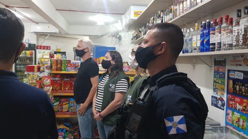 Sete festas clandestinas foram encerradas durante o feriadão – Foto: Prefeitura de BC/Divulgação
