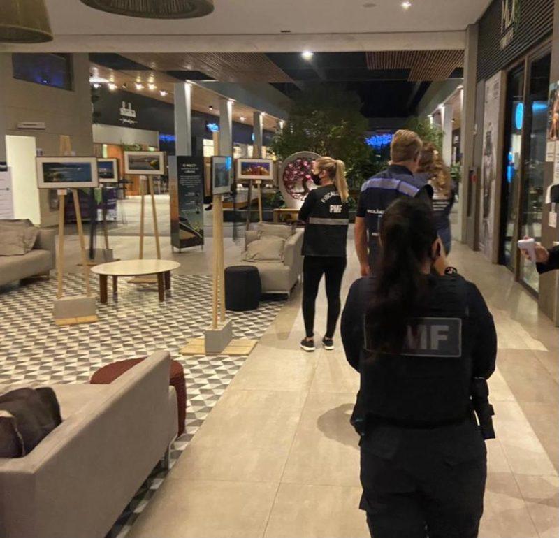 Fiscalização ocorreu entre a noite de quinta-feira (22) e a tarde deste domingo (25) – Foto: Prefeitura de Florianópolis/Divulgação