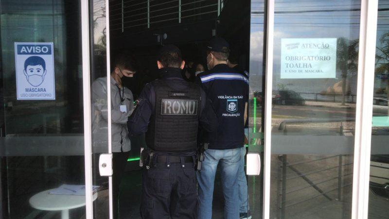 Além da interdição, outros estabelecimentos foram multados na ação – Foto: Prefeitura de Florianópolis/Divulgação