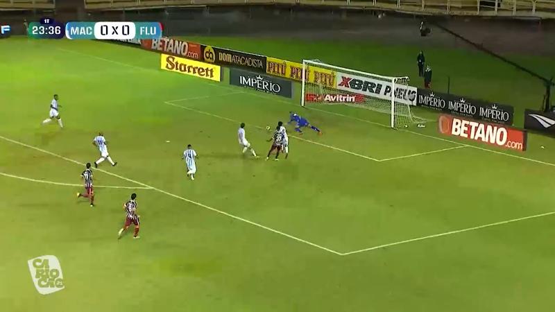 Fluminense vence por 4 a 0 – Foto: Reprodução/ RecordTV Rio