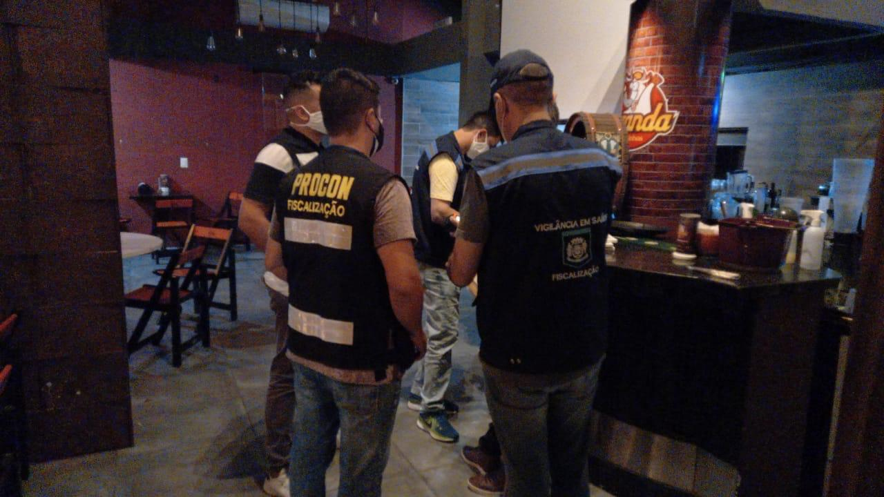 Conforme a GM (Guarda Municipal), as imagens apenas servem para demonstrar a fiscalização em campo - Guarda Municipal de Florianópolis/PMF/Divulgação ND