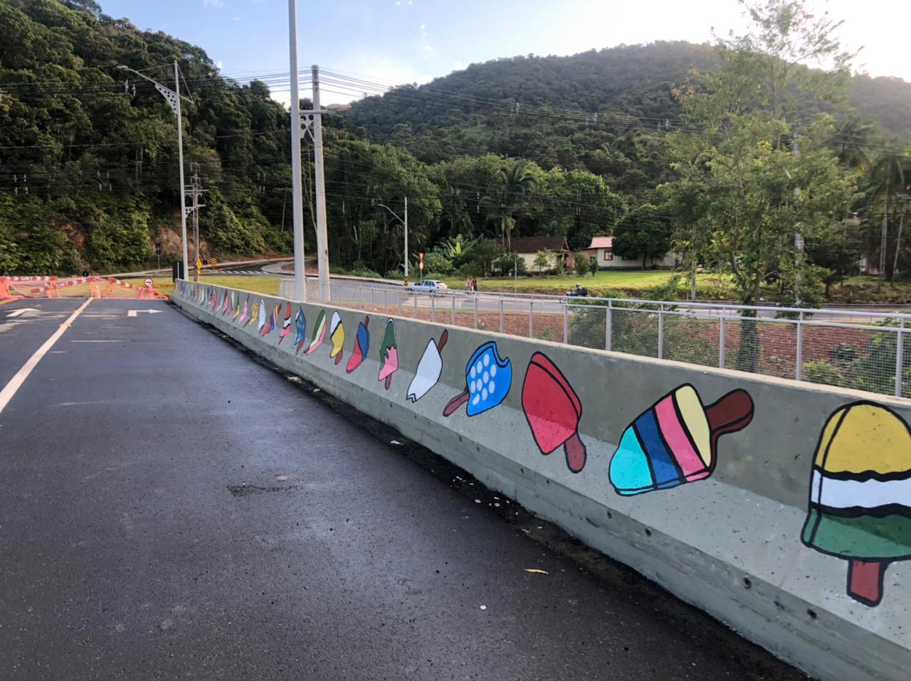 A estrutura será liberada para o trânsito a partir das 9h deste sábado (10) - Gabriela Milanezi/ND TV
