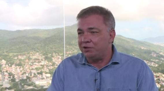 Prefeito de Florianópolis, Gean Loureiro. – Foto: Reprodução/ND