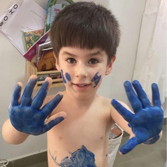 Henry Borel, de apenas 4 anos, morreu em 8 de março; laudo indicou 23 ferimentos que geraram hemorragia interna e laceração hepática – Foto: Reprodução/Instagram