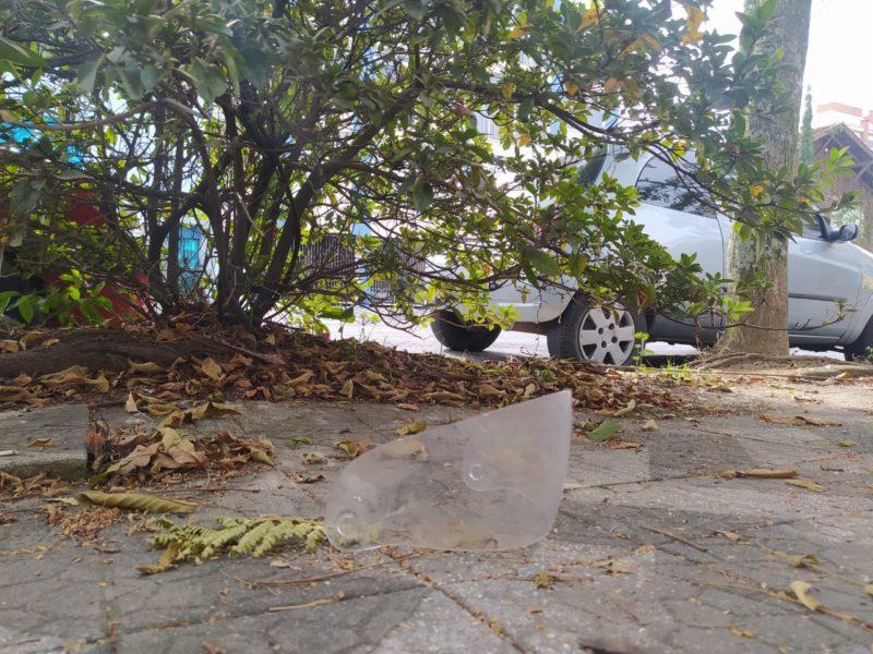 Homem morre ao colidir com árvore em Blumenau – Foto: Vinícius Bretzke