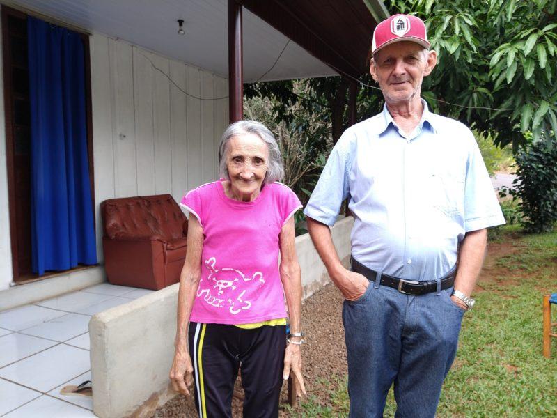 Primos do agricultor Adelino Companhoni que desapareceu em Cordilheira Alta