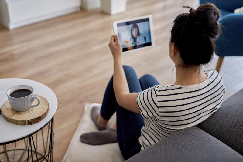 Atendimento psicológico online – Foto: Divulgação