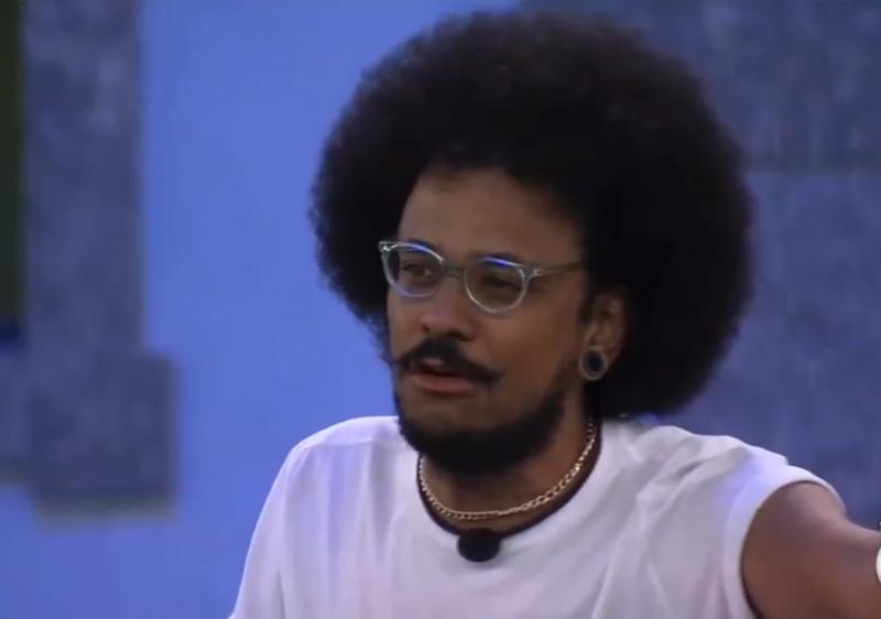 Fala racista foi exposta durante a edição desta segunda-feira (5) do programa – Foto: Rede Globo/Reprodução