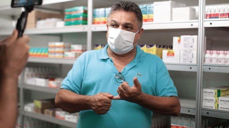 """Prefeito de Chapecó, João Rodrigues, defende """"tratamento precoce"""" no combate ao coronavírus – Foto: Arquivo/ND"""