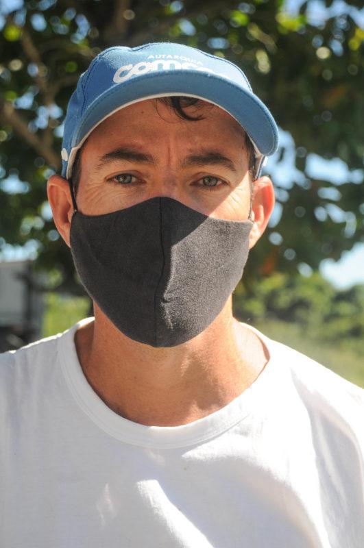 Ele conta que está há 9 anos exercendo a função – Foto: Leo Munhoz/ND