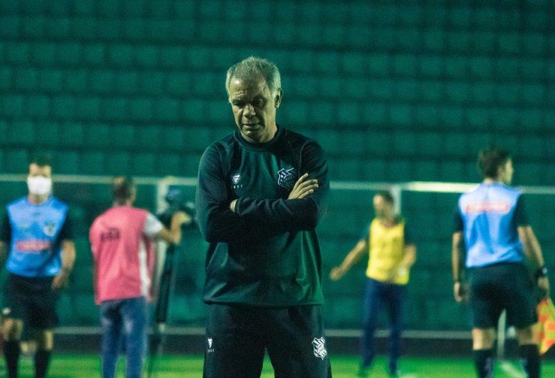 Jorginho rechaçou a hipótese de pedir para deixar o cargo – Foto: Patrick Floriani/FFC