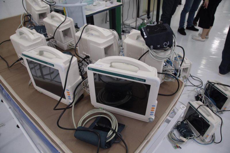 Os equipamentos serão enviados para outros municípios. – Foto: Leandro Schmidt/Prefeitura de Chapecó/Divulgação