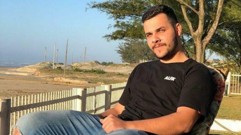 Lucas Speck Rodrigues, de 23 anos, chegou já sem vida ao hospital – Foto: Reprodução