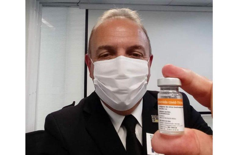 Luiz Henrique Saliba vai se afastar da prefeitura de Papanduva para atuar como médico – Foto: Redes sociais