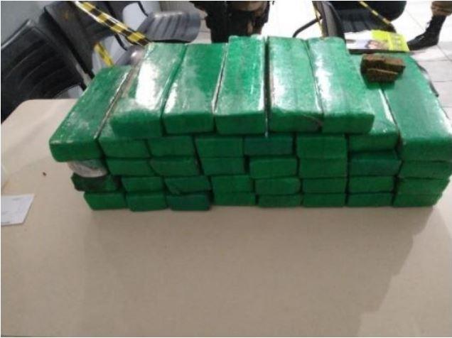 Apreensão da droga aconteceu no fim de semana em Chapecó – Foto: Polícia Militar/Divulgação