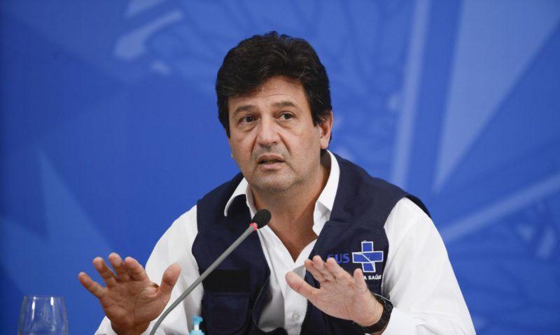 O ex-ministro da Saúde, Luiz Henrique Mandetta, será o primeiro a ser ouvido na CPI da Covid – Foto: Marcello Casal JrAgência Brasil/ND