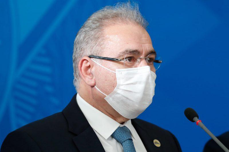 Ministro da Saúde, Marcelo Queiroga, disse que é favorável à compra de vacinas pela iniciativa privada