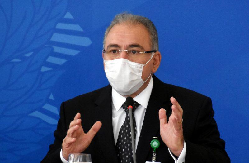 Marcelo Queiroga anunciou entrega de 4 milhões de doses nesta sexta-feira (30) – Foto: Luis Macedo/Câmara dos Deputado/Divulgação/ND