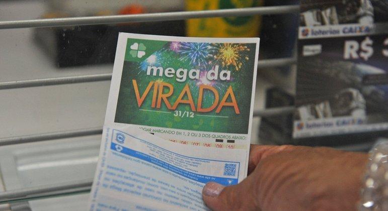 Mega da Virada: parte do prêmio não foi retirado por um dos bilhetes premiados – Foto: Reprodução/ND