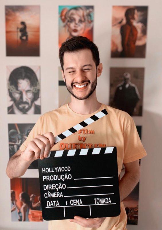 Mikael Melo vai comandar a cobertura em tempo real do Oscar 2021 no portal ND+ – Foto: Divulgação