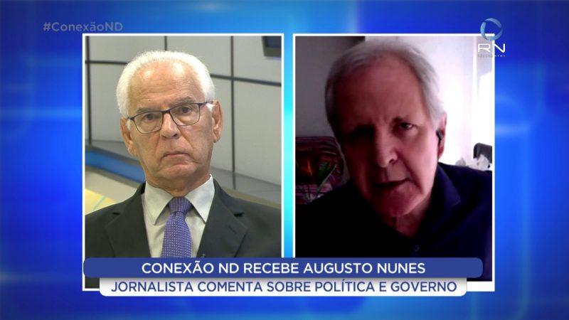 Moacir Pereira entrevistando Augusto Nunes