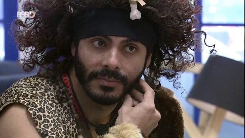 Comentário foi feito após Rodolffo ser escolhido o monstro da semana – Foto: Globo/Reprodução