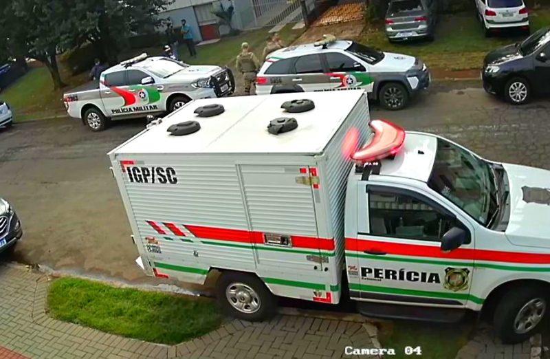 Caso aconteceu no bairro Presidente Médici, em Chapecó – Foto: Reprodução/ND
