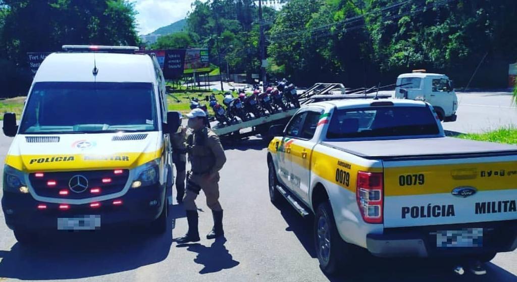 Agentes da PMRv foram até o local com o apoio de guarnições do 4º BPM (Batalhão de Polícia Militar). - PMRv/Divulgação/ND