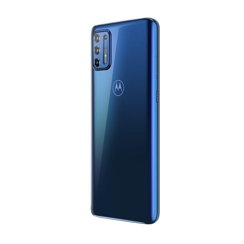 Moto G9 Plus – Azul Índigo - Crédito: Reprodução/Motorola/33Giga/ND