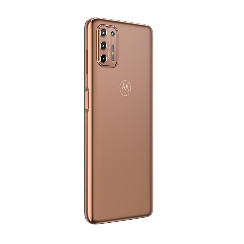 Moto G9 Plus – Ouro Rosê - Crédito: Reprodução/Motorola/33Giga/ND