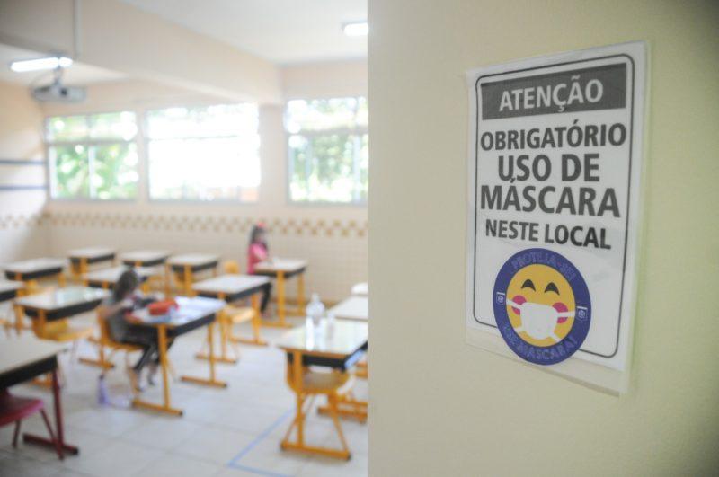Reunião vai discutir medidas contra Covid-19 em escolas de SC – Foto: Leo Munhoz/ND