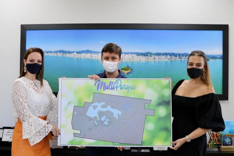Projeto do Multiparque foi apresentado pelo Grupo Tedesco este ano – Foto: Prefeitura de Balneário Camboriú/Divulgação