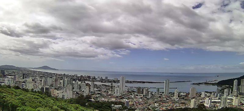Imagem do Morro da Cruz, em Itajaí – Foto: NDTV