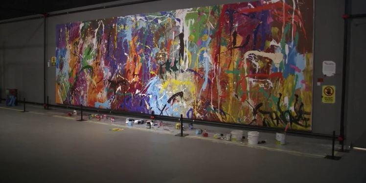 Casal vandalizou obra de R$ 3 milhões por engano na Coreia do Sul – Foto: Reprodução/R7