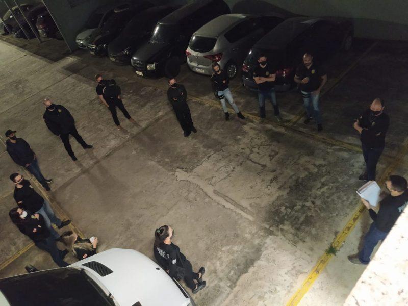Operação nomeada como 'NL2' foi realizada nesta manhã de terça-feira (6) – Foto: Polícia Civil/Divulgação