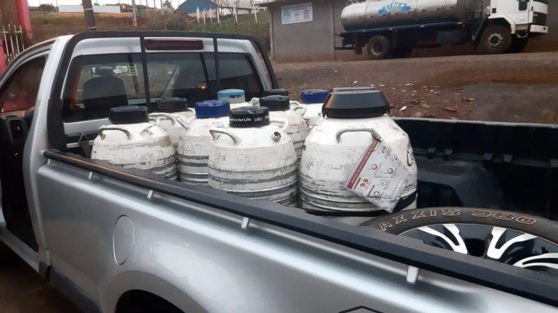 Polícia Civil cumpre cinco mandados de busca e apreensão em três cidades do Oeste de Santa Catarina – Foto: Polícia Civil/Divulgação