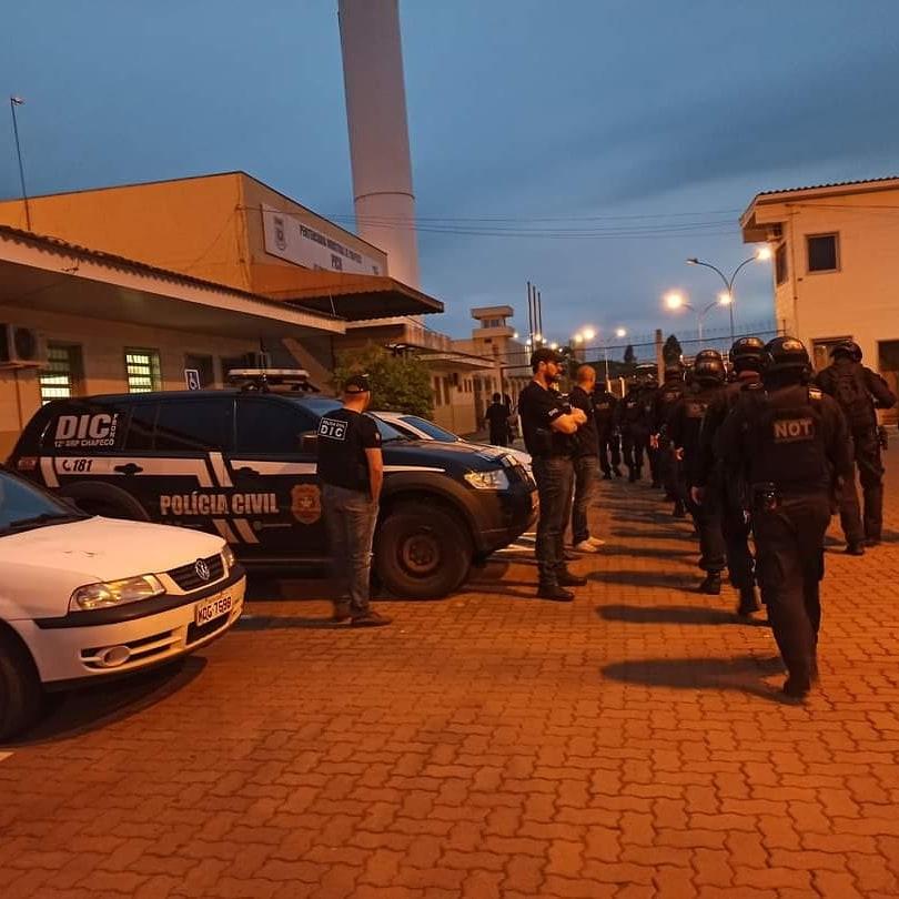 Nove bandidos identificados na Operação Saque Recusado foram condenados a mais de 263 anos de prisão - Divulgação/Polícia Civil