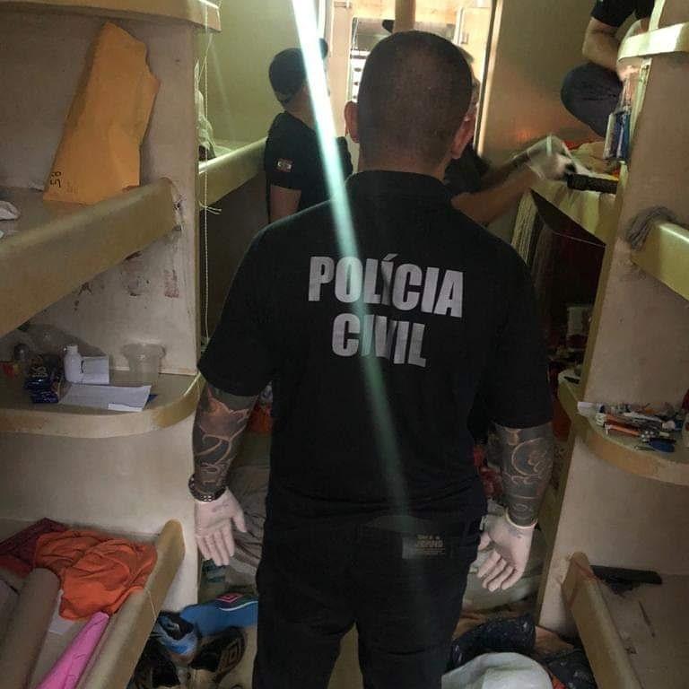 Nove bandidos identificados na Operação Saque Recusado foram condenados a mais de 263 anos de prisão – Foto: Divulgação/Polícia Civil