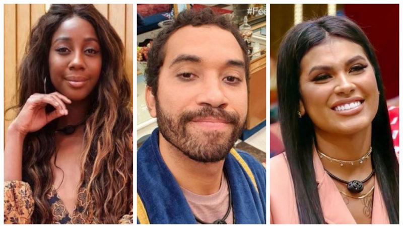 Paredão está formado entre Camilla, Gilberto e Pocah – Foto: Montagem/Reprodução/Instagram