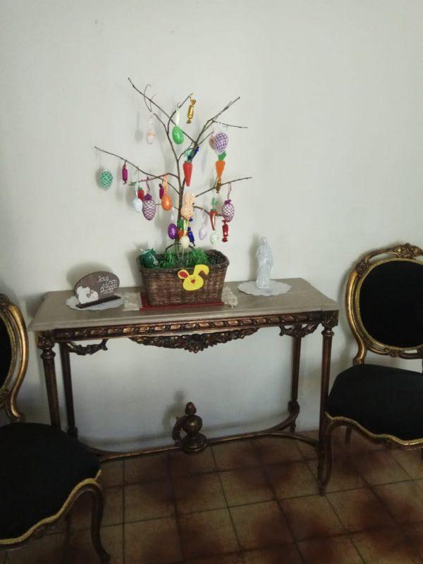 Essa decoração é de Bernadete Baum, da rua João Filete de Oliveira, bairro Boemerwaldt, Joinville – Foto: Bernadete Baum/Divulgação ND