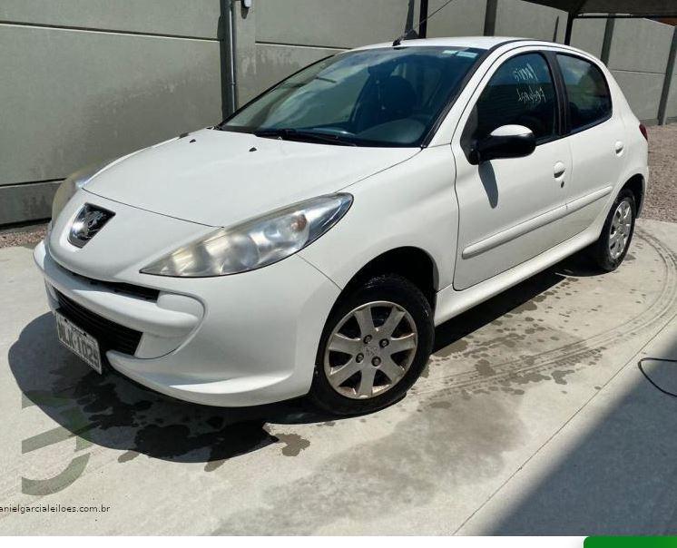 Peugeot 207 disponível em leilão – Foto: Reprodução/Daniel Garcia Leilões