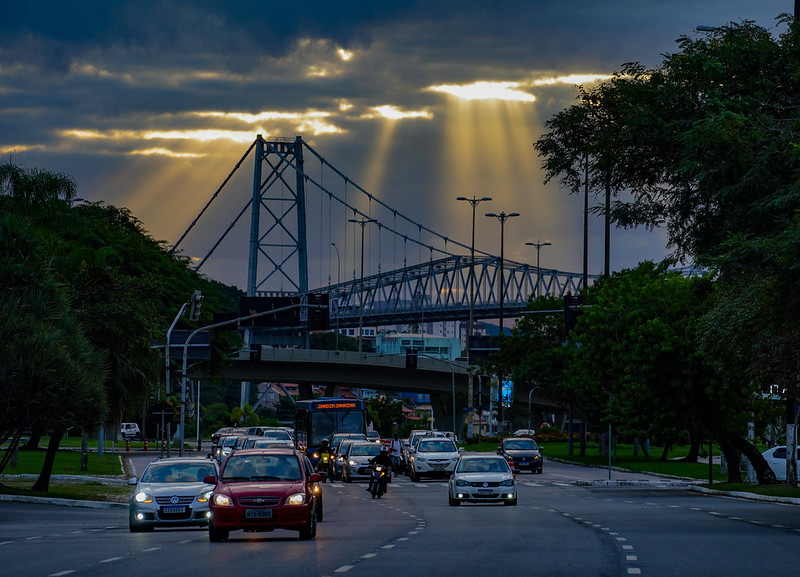 Aberturas de sol começam a aparecer, no Litoral, nesta quinta-feira (22) – Foto: Arquivo/Ricardo Wolffenbüttel/Secom/Divulgação/ND