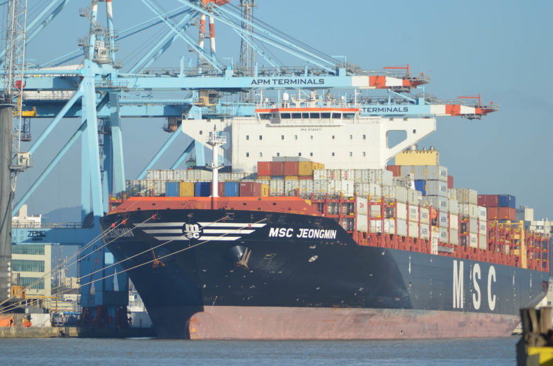 Tempestade Potira já causa prejuízos na exportação catarinense – Foto: Porto de Itajaí/Divulgação