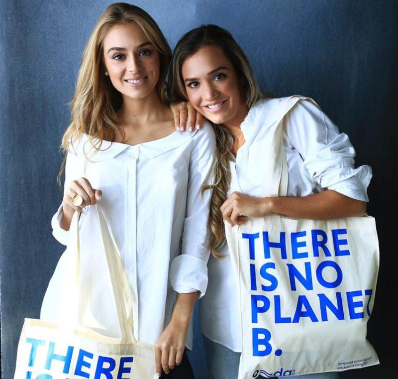 Nicole e Stefania Boneti, as irmãs pioneiras no mercado de produtos de higiene 100% veganos e biodegradáveis – Foto: Reprodução/Stefania Boneti/ND